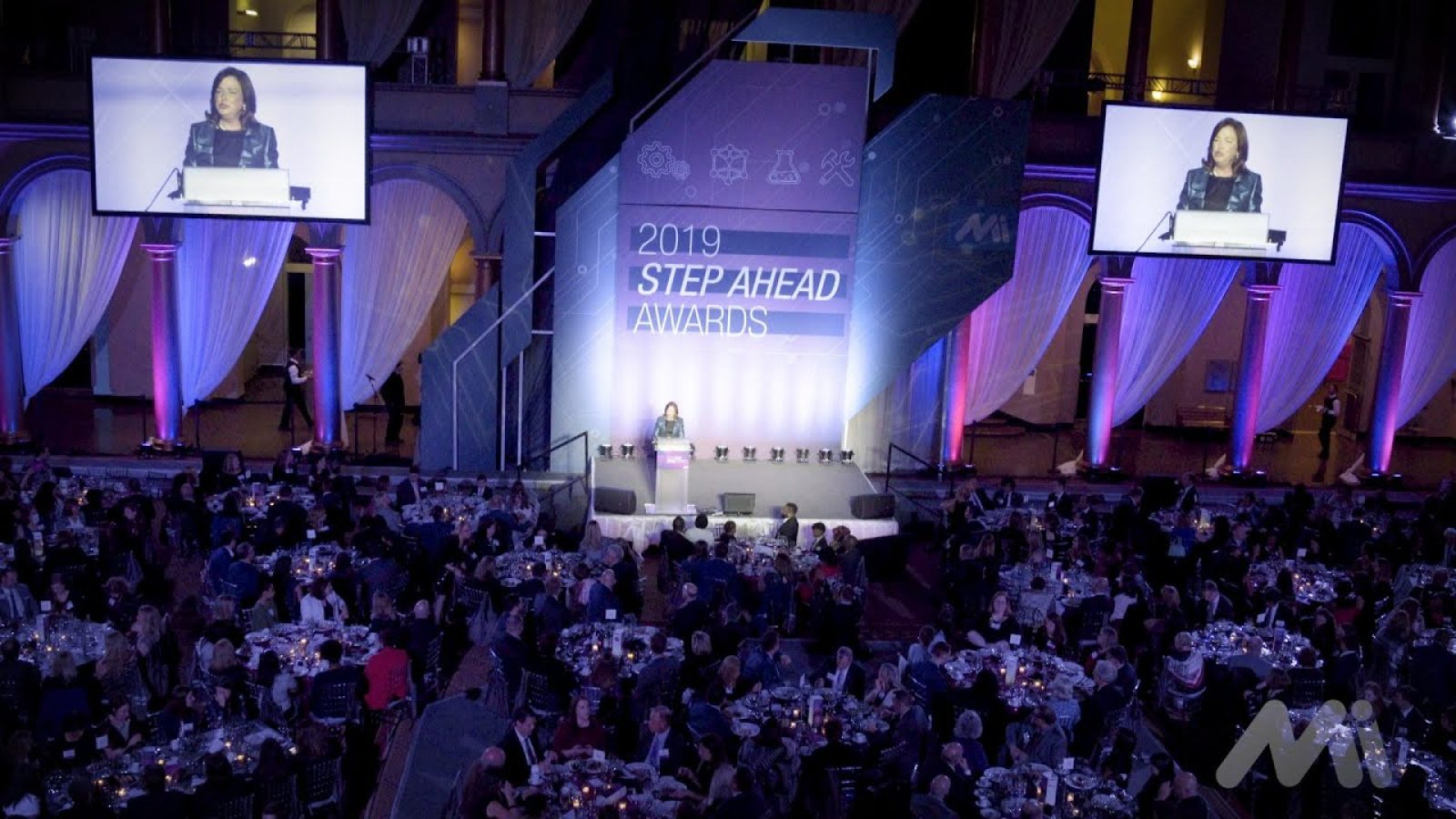 STEP ahead awards stage photograph
